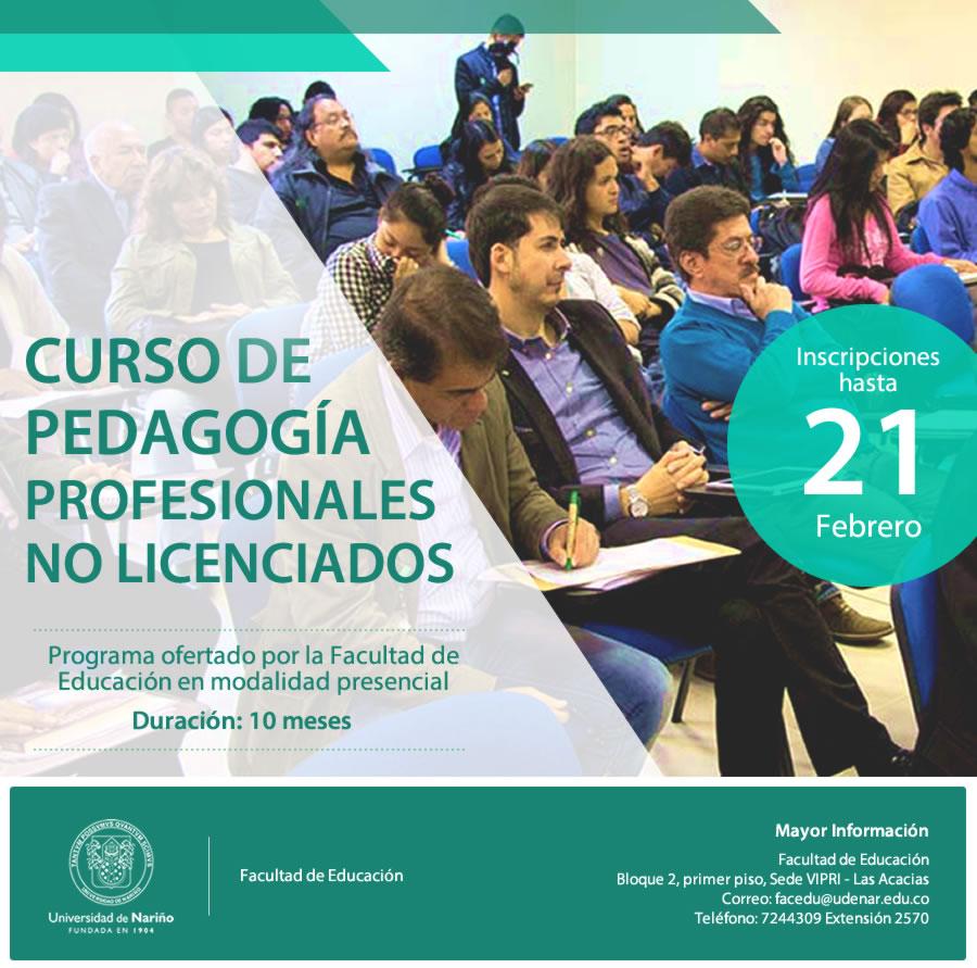 Curso Pedagogia no Licenciados 2020