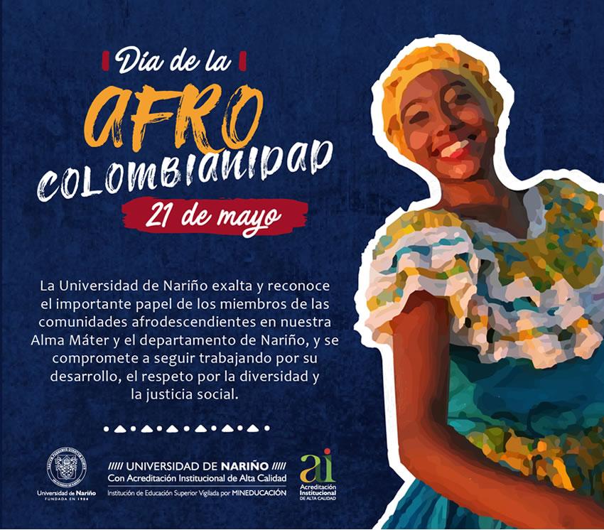 TARJETA afrocolombianidad