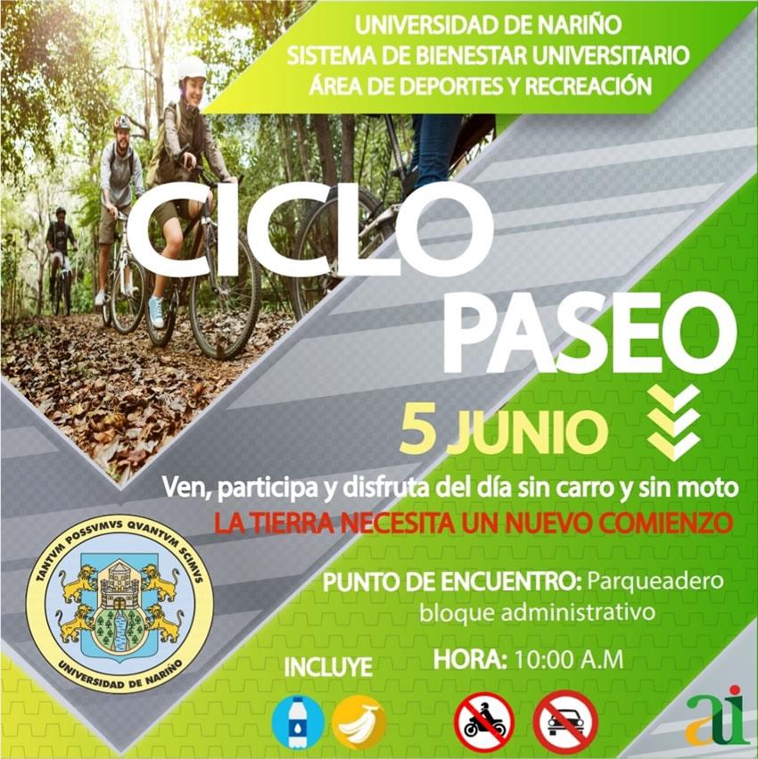Ciclo paseo 5 de junio