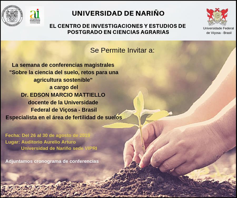 Invitacion Conferencias Suelos sostenibles