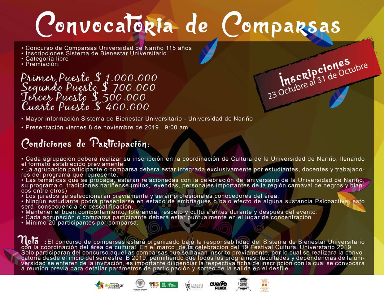CONVOCATORIAS-COMPARSAS