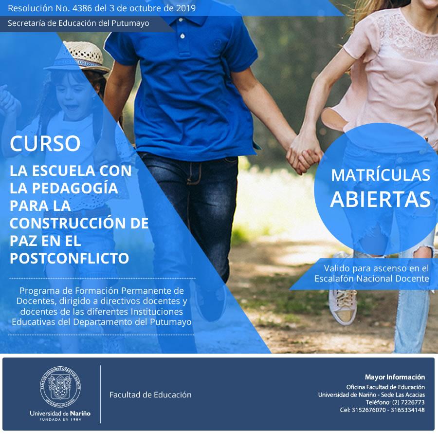 afiche-curso-postconflicto-putumayo
