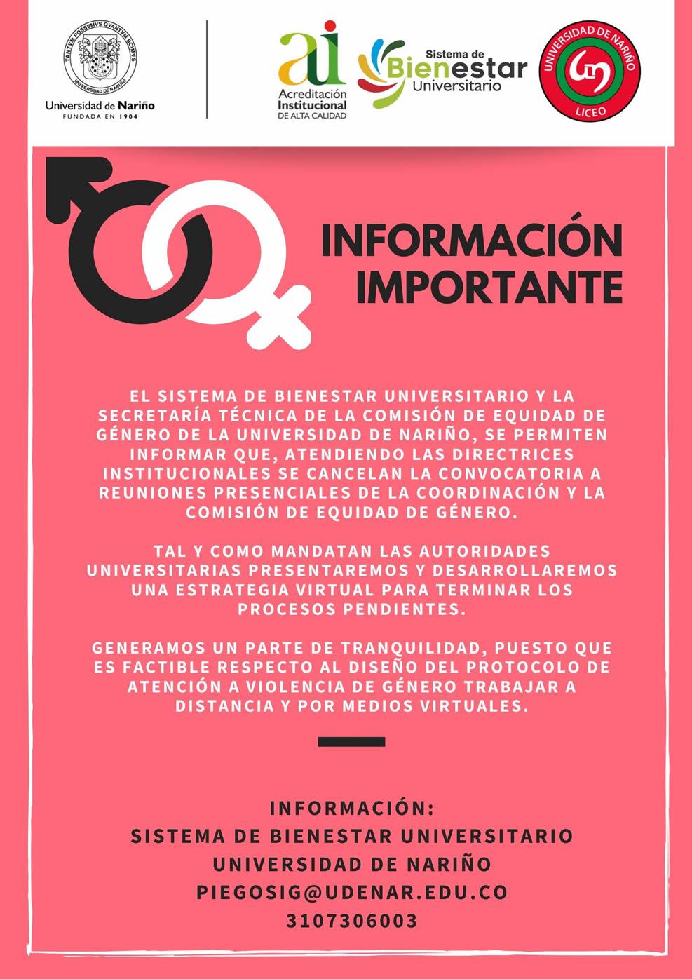 REUNIONES COMISION DE GENERO