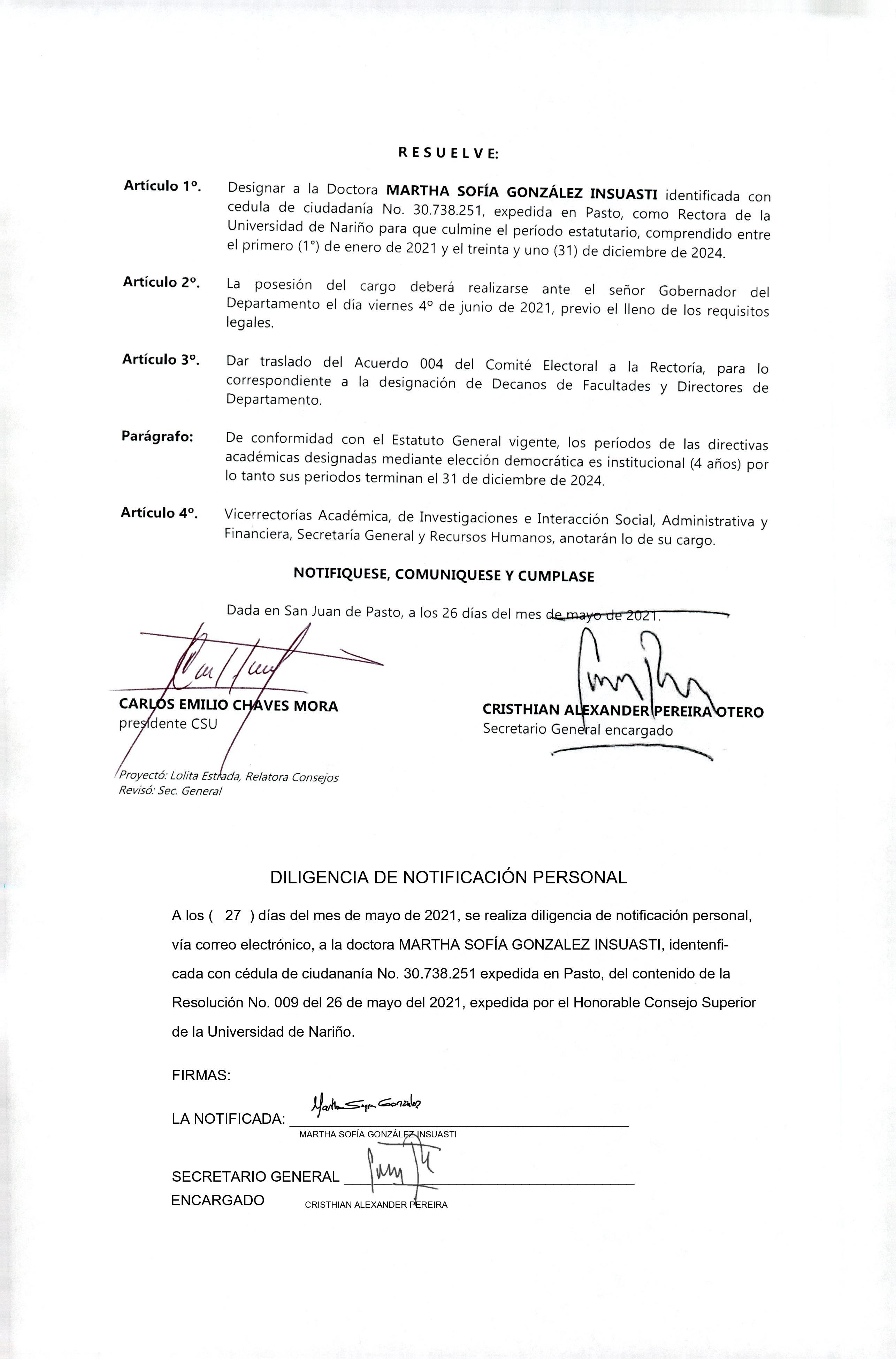 resolucion_009 _designacion_RECTORA_2021-2024_pag2